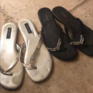 Highly used sandals.